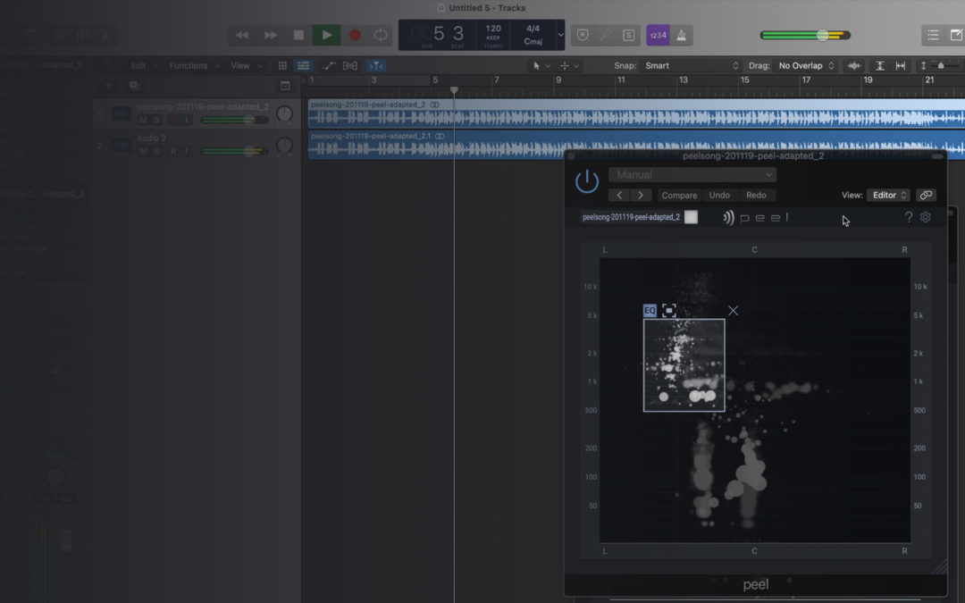 Using PEEL with Logic Pro, Cubase, Studio One